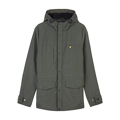 Lyle & Scott Micro Fleece Jacket Dark Sage