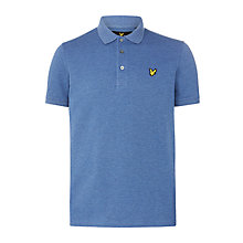Buy Lyle & Scott Polo Shirt, Indigo Marl Online at johnlewis.com