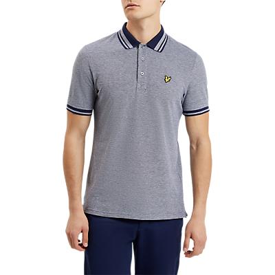 Image of Lyle & Scott Oxford Polo Shirt, Navy