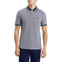 Buy Lyle & Scott Oxford Polo Shirt, Navy Online at johnlewis.com