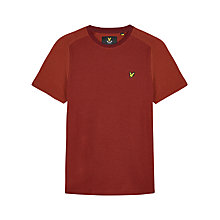 Buy Lyle & Scott Reverse Birdseye T-Shirt Online at johnlewis.com