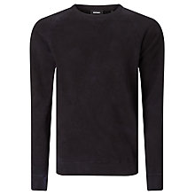 Buy Diesel S-Bros Crew Neck Jumper, Peacoat Blue Online at johnlewis.com