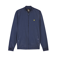 Buy Lyle & Scott Lightweight Bomber Jacket, Navy Online at johnlewis.com