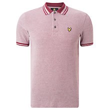 Buy Lyle & Scott Oxford Polo Shirt, Claret Jug Online at johnlewis.com