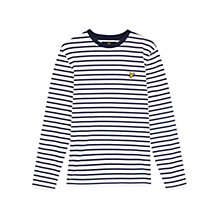 Buy Lyle & Scott Breton Stripe Shirt, Off White Online at johnlewis.com