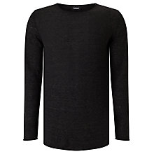 Buy Diesel K-Tiger-A Jumper, Black Online at johnlewis.com