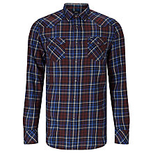 Buy Diesel Sulfeden Camicia Check Shirt, Tawney Red Online at johnlewis.com