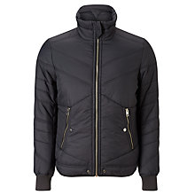 Buy Diesel Generic Jacket, Navy Online at johnlewis.com