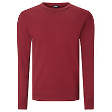 Buy Diesel Dant Jersey Top, Tawny Red Online at johnlewis.com