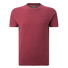 Buy Diesel T-Sirio Marl Crew Neck T-Shirt, Tawney Red Online at johnlewis.com