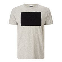 Buy Diesel T-Joe-HN Applique Logo T-Shirt Online at johnlewis.com