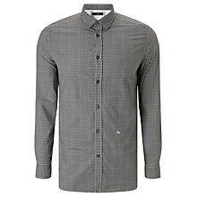 Buy Diesel S-Moon Print Shirt, Black Online at johnlewis.com