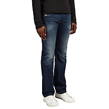 Buy Diesel Larkee Bee Jeans, Dark Wash Online at johnlewis.com