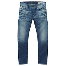 Buy Diesel Sleenker Jeans, Mid Wash Online at johnlewis.com