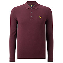 Buy Lyle & Scott Long Sleeve Polo Shirt Online at johnlewis.com