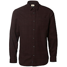 Buy Selected Homme Elliot Long Sleeve Shirt, Bitter Chocolate Online at johnlewis.com