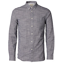 Buy Selected Homme Slim Fit Loc Shirt, Blueberry Checks Online at johnlewis.com