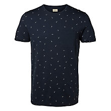 Buy Selected Homme Holger Arrow Print T-shirt Online at johnlewis.com
