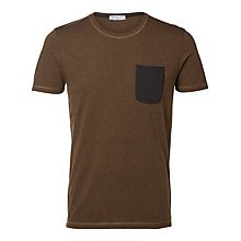 Buy Selected Homme Indoe Pocket T-shirt Online at johnlewis.com