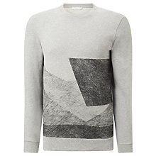 Buy Selected Homme Two Crew Neck Sweatshirt, Light Grey Melange Online at johnlewis.com