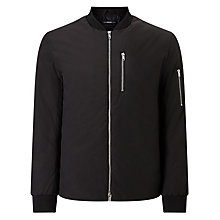 Buy Selected Homme Bomber Jacket, Black Online at johnlewis.com