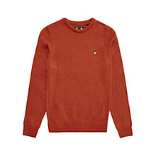 Buy Lyle & Scott Lambswool Jumper Online at johnlewis.com