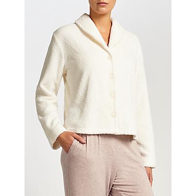 John Lewis Classic Bed Jacket, Ivory