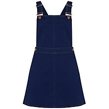 Buy Oasis Denise Dungaree Dress, Denim Online at johnlewis.com