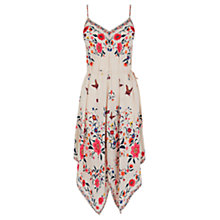 Buy Oasis Havana Hanky Hem Dress, Multi Online at johnlewis.com