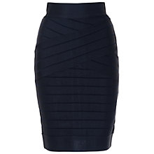 Buy French Connection Spotlight Skirt, Utility Blue Online at johnlewis.com