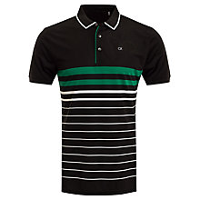 Buy Calvin Klein Golf Vital Polo Shirt, Green Online at johnlewis.com