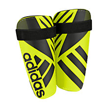 Buy Adidas Ghost Lite Shin Guards, Yellow/Black Online at johnlewis.com