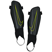 Buy Nike Charge 2.0 Football Shin Guards, Black/Volt Online at johnlewis.com
