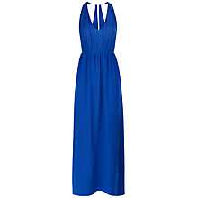 Buy Jaeger Chiffon Halter Neck Silk Dress Online at johnlewis.com