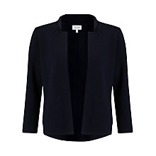 Buy Jigsaw Merino Milano Knit Jacket, Ink Online at johnlewis.com