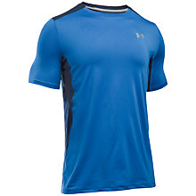 Buy Under Armour Coolswitch Running T-Shirt, Blue Online at johnlewis.com