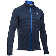 Buy Under Armour NoBreaks ColdGear Infrared Men's Running Jacket, Blue Online at johnlewis.com