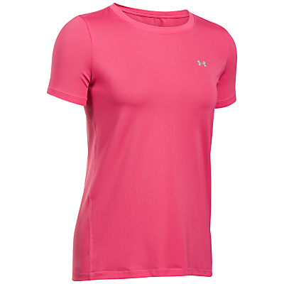 Under Armour Crew Neck T-Shirt, Pink