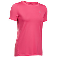 Buy Under Armour Crew Neck T-Shirt, Pink Online at johnlewis.com