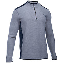 Buy Under Armour ColdGear Infrared Performance 1/4 Zip Fleece, Blue Online at johnlewis.com