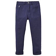 Buy Little Joule Boys' Junior Ted Jeans, French Navy Online at johnlewis.com