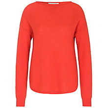 Buy Oui Cashmere Jumper, Mandarin Red Online at johnlewis.com