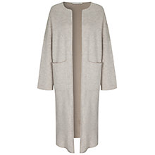 Buy Oui Melange Coatigan, Light Stone Taupe Online at johnlewis.com