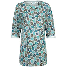 Buy Seasalt Trewoon Tunic Top, Diamond Stamp Online at johnlewis.com