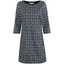 Buy Seasalt Pentherick Dress, Autumn Woodcut Coal Online at johnlewis.com