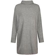 Buy Seasalt Neap Tide Roll Neck Jumper Dress, Grey Online at johnlewis.com
