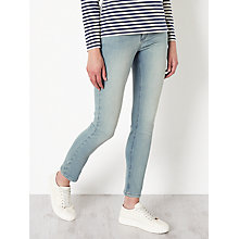 Buy Collection WEEKEND by John Lewis Drainpipe Jeans, Bleached Blue Online at johnlewis.com