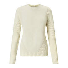 Buy Collection WEEKEND by John Lewis Deflected Rib Jumper Online at johnlewis.com