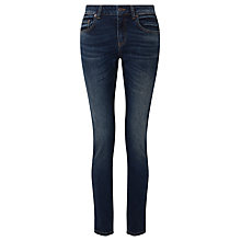 Buy Collection WEEKEND by John Lewis Drainpipe Jeans, Mid Wash Indigo Online at johnlewis.com