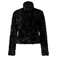 Buy John Lewis Astrakan Faux Fur Short Jacket Online at johnlewis.com